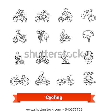 Leisure activities for children - line design style icons set Stock photo © Decorwithme