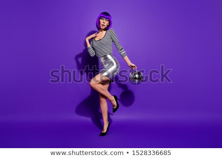 dancers legs with disco ball stock photo © illustrart