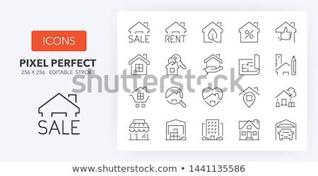 house over blueprint stock photo © johnnychaos