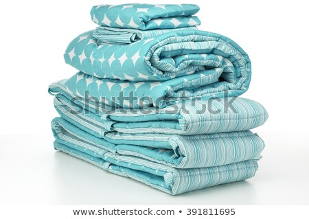 stacks of bed clothes isolated stock photo © zakaz