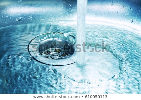 Fut víz sebesség fürdőszoba tiszta csobbanás Stock fotó © leeser