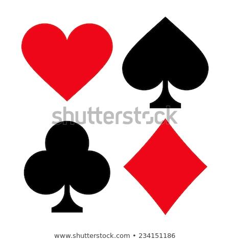 Foto stock: Cartão · conjunto · símbolos · esportes · projeto