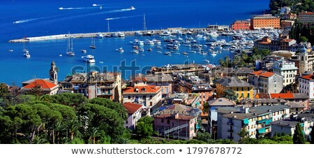 Promenade célèbre petite ville Italie ciel Photo stock © Antonio-S