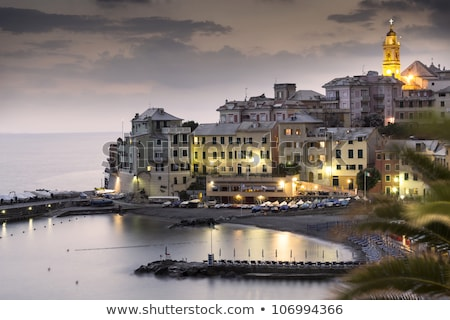 bogliasco overview italy stock photo © antonio-s