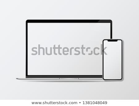 modern · laptop · vektor · számítógép · internet · terv - stock fotó © pkdinkar