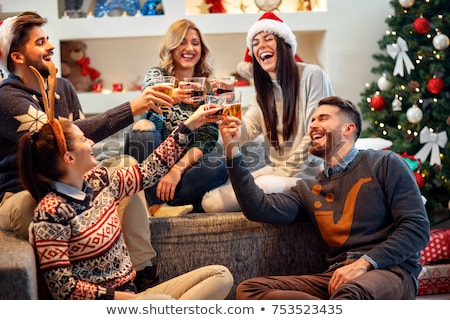 Couple having a get-together Stock photo © photography33