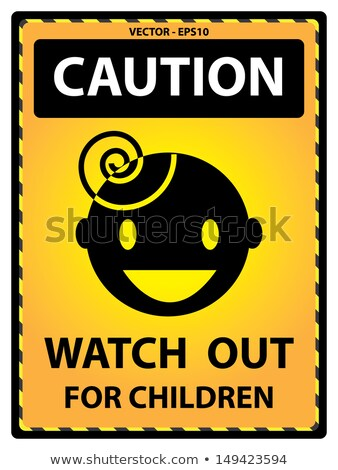 Neighborhood Watch SIgn Isolated on White Stock photo © iqoncept