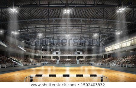 handball stock photo © abdulsatarid