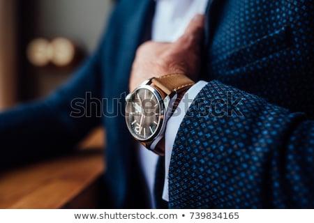 Izlemek yüz moda saat Stok fotoğraf © ryhor