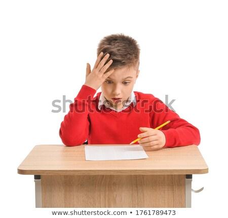 難しい テスト 学生 教室 クラス 見 ストックフォト © photography33