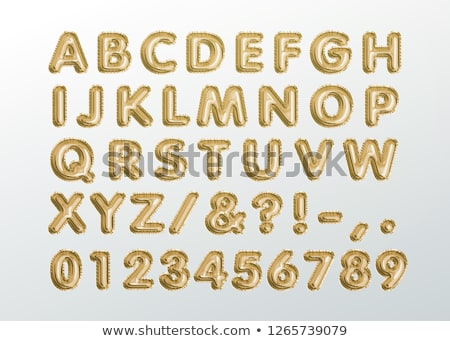 numbers letters stock photo © davinci