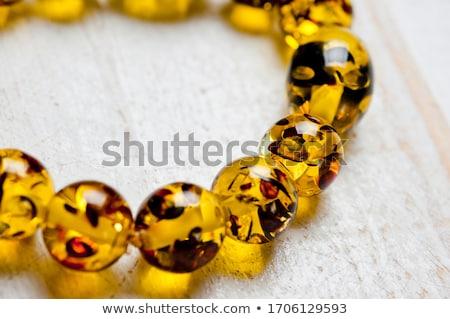 жемчуга · шелковые · ткань · ожерелье · женщины · Sexy - Сток-фото © sarkao
