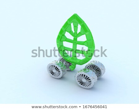 Beautiful car wheel on white background, no shadow Stock photo © Nobilior