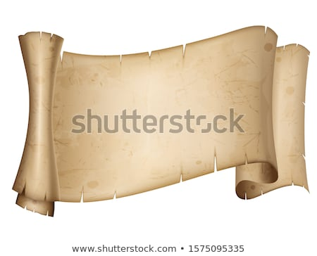 Ancient parchment scroll Stock photo © fixer00