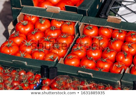 tomatoes for sale stock photo © sandralise