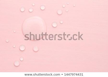 большой капли воды зеленый стекла аннотация дождь Сток-фото © toaster