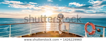 Cruise liner - cruise ship Stock photo © rtguest
