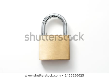 lakat · izolált · fehér · tárgy · védelem · makró - stock fotó © SVitekD