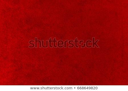 Rosso velluto primo piano dettaglio texture Foto d'archivio © homydesign