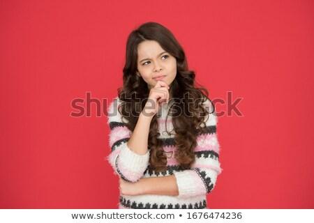 女の子 決定 手 アジア ストックフォト © jarenwicklund
