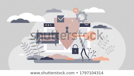 információ · tudás · titok · személyes · üzlet · adat - stock fotó © Lightsource