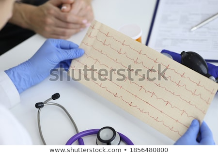 ecg and ekg cardiovascular system stock photo © lightsource