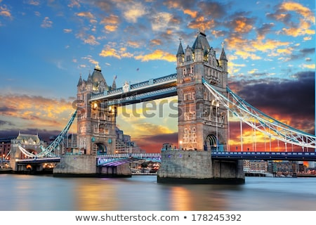 old London Bridge Stock photo © Snapshot