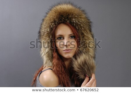 Raccoon Skin Cap Stock photo © 2tun