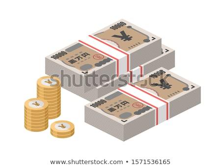 日本語 円 ノート 旅行 銀行 ストックフォト © dacasdo