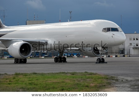 cargo aeroplane stock photo © ssuaphoto
