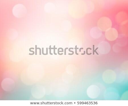 aranyos · nyúl · zöld · legelő · fényes · égbolt - stock fotó © rioillustrator