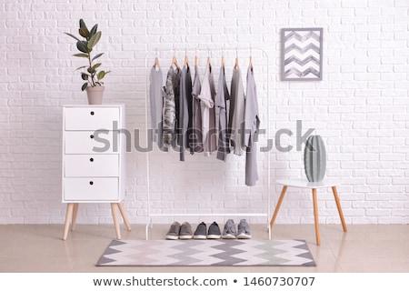 wasserij · kamer · hout · opslag · huis · ontwerp - stockfoto © paha_l