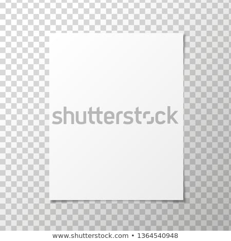 Blank Page Vector Design Stock photo © mike301