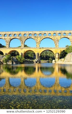 Franciaország öreg római déli világ nyár Stock fotó © Bertl123