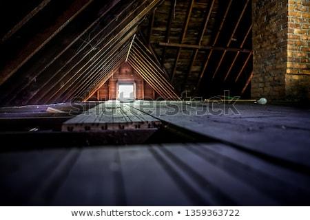 empty attic storage stock photo © ozgur