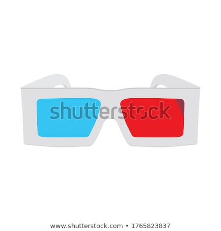 vector set of 3D glasses Stock photo © odes