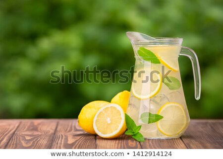 Jug with lemonade Stock photo © MKucova