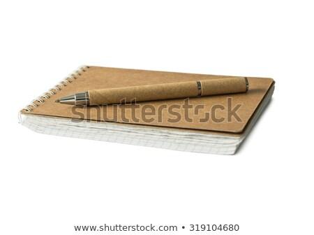 Tektury długopisy biuro papieru książki Zdjęcia stock © pxhidalgo