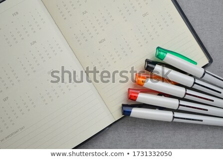 Blank Calendar Shows Appointment Schedule Or Event Stock photo © stuartmiles