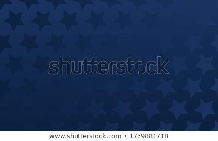 Senza soluzione di continuità patriottico stelle carta moda blu Foto d'archivio © creative_stock
