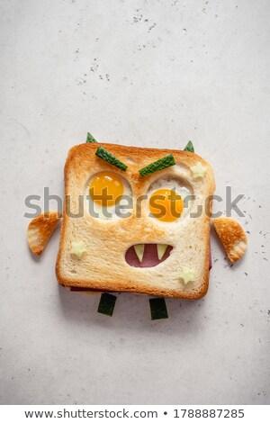 Halloween toast Stock photo © pressmaster