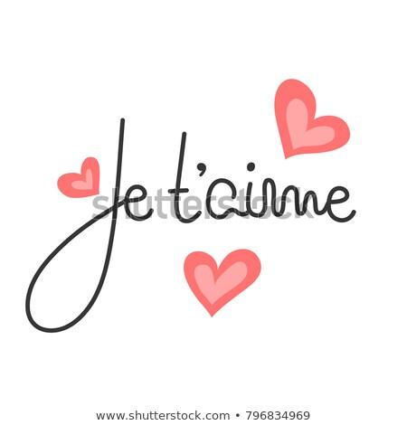 Valentin nap nap szív vektor papír szeretet Stock fotó © gubh83