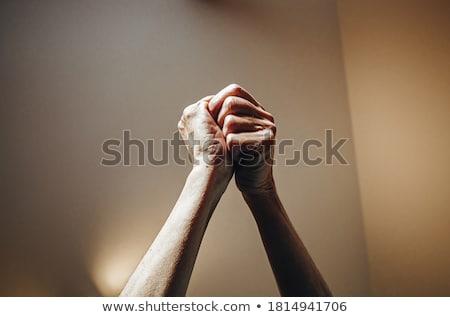 стороны другой рук кавказский другой Сток-фото © Cursedsenses