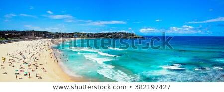 ビーチ · シドニー · オーストラリア · 海岸 · 空 - ストックフォト © magann