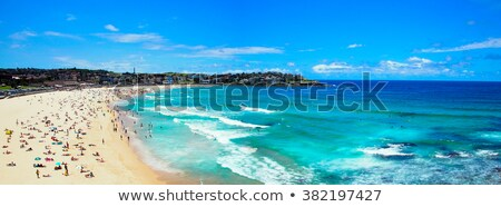 praia · Sydney · Austrália · costa · céu - foto stock © magann
