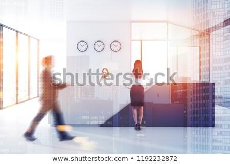 Gast überprüfen Uhr Restaurant Kosten Stock foto © devon