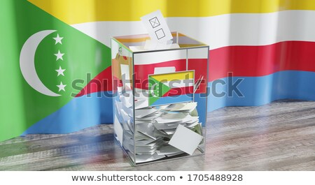 Ballot box Comoros Stock photo © Ustofre9