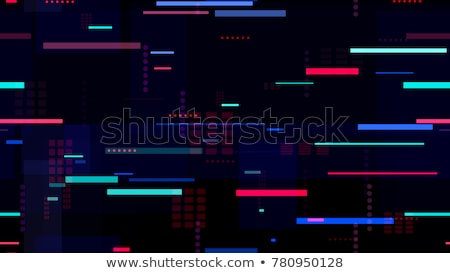 city seamless pattern at night stock photo © vook