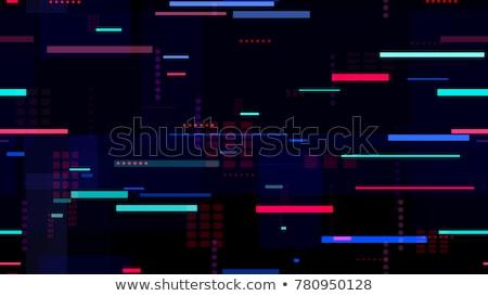 City seamless pattern at night Stock photo © VOOK