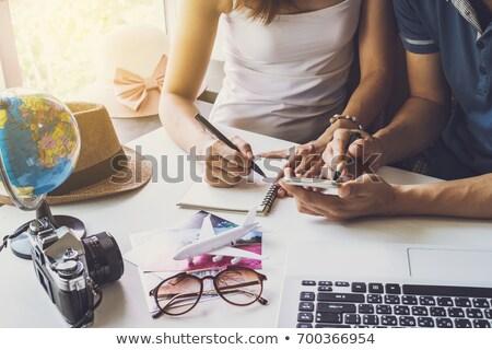 bütçe · tatil · örnek · ekran · atış · Internet - stok fotoğraf © hasloo